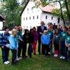 Dr. Danilo Türk z mladimi ustvarjalci Knjige Velikanke